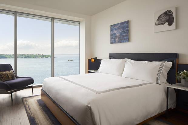 The Thompson hotel opened in the centre of Pike Place earlier this year.