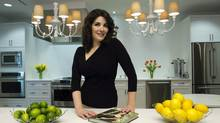 Nigella Lawson poses for a photo during an interview with The Canadian Press in Toronto on Monday February 18, 2013. (Frank Gunn/THE CANADIAN PRESS)