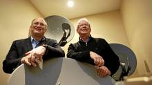 Xplornet Communications Inc. CEO John Maduri, left, and chairman William Barrett: In the drive to be a force in Canadian broadband, '2012 will be pivotal' for Xplornet, Mr. Maduri says. (Deborah Baic/The Globe and Mail/Deborah Baic/The Globe and Mail)