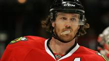 The Chicago Blackhawks and defenceman Duncan Keith take on the Vancouver Canucks in Tuesday's marquee NHL matchup on TSN at 10 p.m. Tommy Giglio-US PRESSWIRE (Tommy Giglio/US PRESSWIRE)