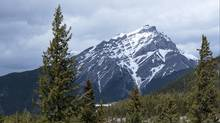 The view from The Banff Springs Hotel. Taken Tuesday, April 24, 2012. (Chris Bolin/Chris Bolin/The Canadian Press)