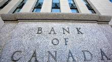 The Bank of Canada is shown in Ottawa, Tuesday, March 3, 2009. (Tom Hanson/The Canadian Press)