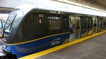 A Vancouver SkyTrain car on May 6th, 2009. (Simon Hayter For The Globe and Mail/Simon Hayter For The Globe and Mail)