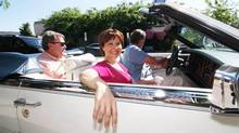 'I learned more about leadership in the last two years than I probably will for the rest of my career,' B.C. Premier Christy Clark says. (Chris Stanford/THE CANADIAN PRESS)
