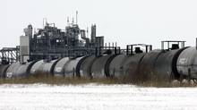In the first 12 weeks of 2013, the number of carloads of petroleum products shipped by U.S. and Canadian railways was up 47 per cent from its year-ago level, according to National Bank Financial's chief economist and strategist Stéfane Marion. (J.P. MOCZULSKI/REUTERS)