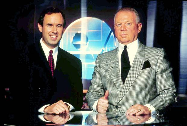 Ron MacLean and Don Cherry