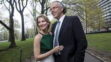 Jeff Melanson and Eleanor McCain in New York May 1, 2014. (Eric Thayer/Eric Thayer)