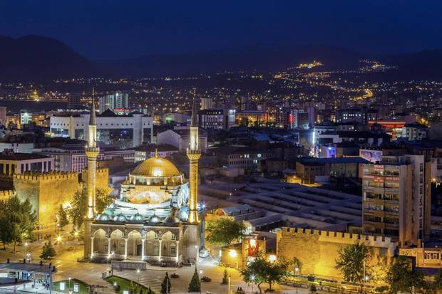 Kayseri, a bustling city in central Turkey that is cradled by mountains, was where author Rick Antonson set out by train for his journey to Mount Ararat.