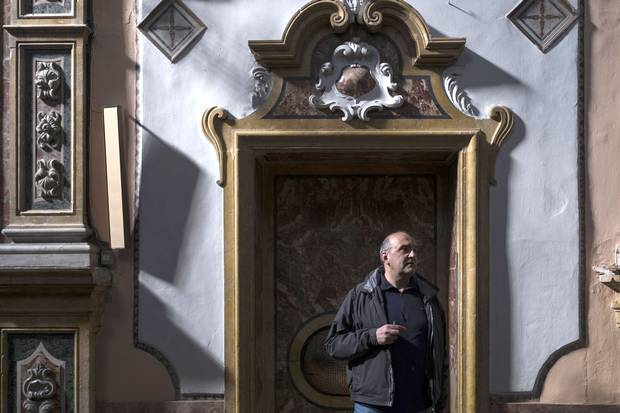 Fr. Volpe took over Palermo's Church of Santa Chiara five years ago. Many of the children cared for in the church's community centre are the children of migrants, some of whom are sex slaves.