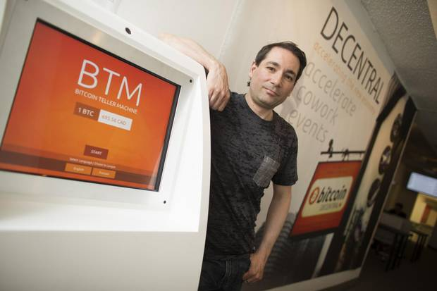 Anthony Di Iorio, the founder of Bitcoin Decentral in his office at 64 Spadina Avenue in Toronto on June 12, 2014.
