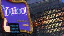 A Yahoo! billboard is seen in New York's Time's Square January 25, 2010. (© Brendan McDermid / Reuters/Brendan McDermid/REUTERS)