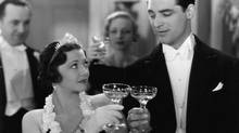 Sylvia Sidney and Cary Grant in Thirty Day Princess (1934).
