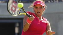 Sania Mirza of India (Paul J. Bereswill/The Associated Press)