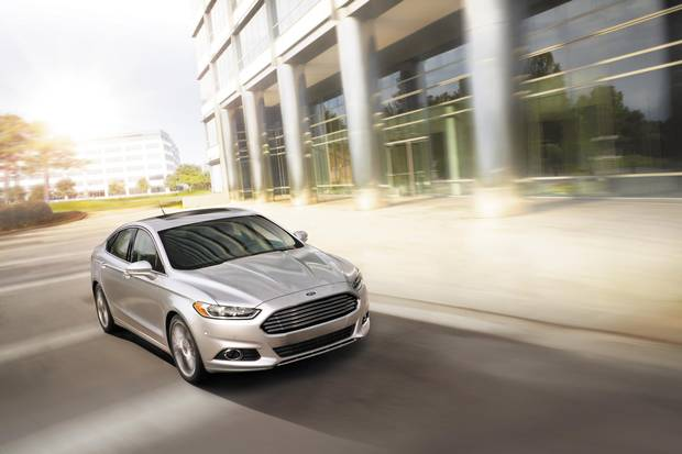 2015 Ford Fusion.