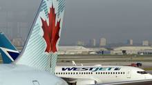 File photo at Pearson Int'l Airport in Toronto. (Fred Lum/Fred Lum/The Globe and Mail)
