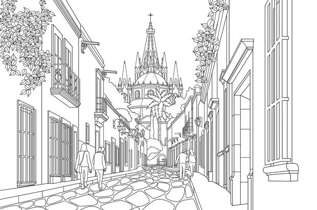 61 Travel Coloring Book For Adults Best HD