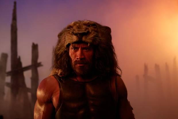 Dwayne Johnson as Hercules in
