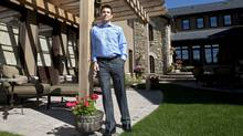 Don Gray, president of Gray Capital Partners, relaxes in his Calgary home, Thursday, July 15, 2010. (Jeff McIntosh/Globe and Mail/Jeff McIntosh/Globe and Mail)
