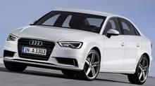 The 2015 Audi A3 sedan (Audi)