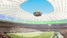 Canam is building the world's largest cable-supported retractable roof to replace the air-supported dome at BC Place.