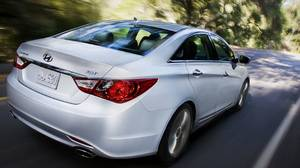 The 2011 Hyundai Sonata 2.0T has with Hyundai's first four-cylinder turbocharged gasoline direct-injection engine