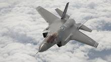 Lockheed F-35 AF1 joint strike fighter. (Tom Reynolds for The Globe and Mail)