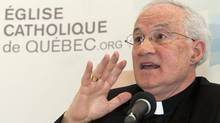 Cardinal Ouellet responds: His province has long been at the forefront of the freedom of choice fight. (Jacques Boissinot/The Canadian Press)