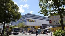 General view of IKEA's first city centre store in Hamburg, Germany. Sweden's IKEA, the world's biggest furniture chain known for its sprawling out-of-town showrooms, is opening its first city centre store as it responds to a shift in shopping habits to smaller local stores and the Internet. (FABIAN BIMMER/REUTERS)