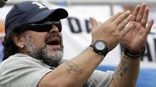 Argentina's Diego Maradona (Natacha Pisarenko/The Associated Press)