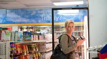 Charlize Theron was shown with a tub of Ben & Jerry's ice crean in the 2011 movie Young Adult. (Phillip V. Caruso)