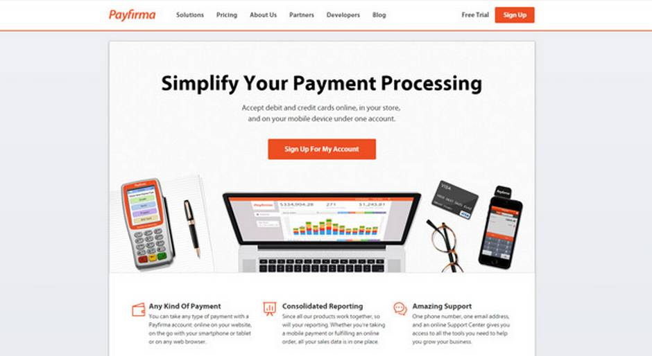 Top five online payment systems for your small business the globe payfirma colourmoves Gallery
