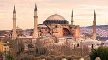 Hagia Sophia in Sultanahmet district, Istanbul. Turkey. (Luciano Mortula/Getty Images/iStockphoto)