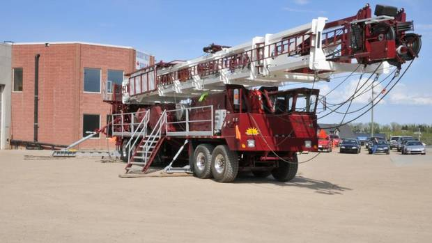 Sparta Engineering projects include this service rig for the oil industry owned by Sun Country Well Servicing. Sparta's engineers designed the rig. (COURTESY OF SPARTA ENGINEERING)