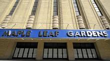 Maple Leaf Gardens, seen here in an April 16, 2008 file photo, is being converted into a multi-purpose space shared by Loblaws and Ryerson University. (Tibor Kolley/The Globe and Mail/Tibor Kolley/The Globe and Mail)
