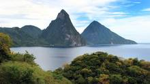 Gros Piton towers 786 metres high above the island of St Lucia. If you're in good shape, a climb to the top should take a couple of hours. (Domini Clark/The Globe and Mail)
