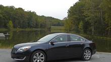 2014 Buick Regal: Buick is aiming for a younger demographic with its new sedan. (Petrina Gentile for The Globe and Mail)