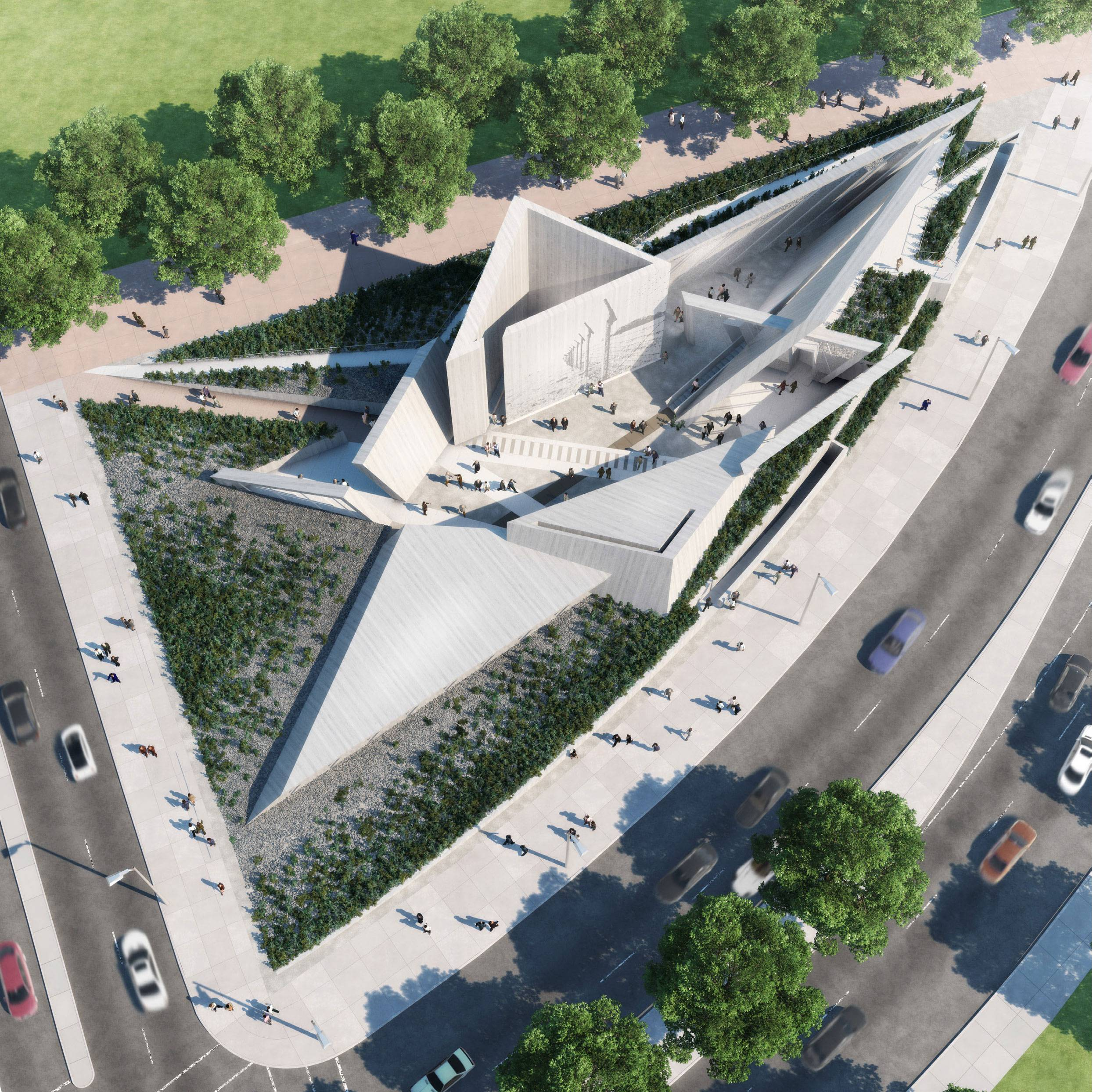 A U201cjourney Through A Star,u201d By The Team Of Libeskind, Landscape Architect  Claude Cormier, Photographer Edward Burtynsky And Museum Planner Gail Lord.