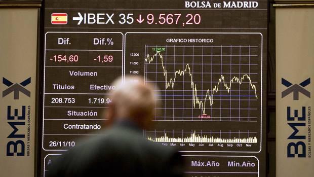#1) IBEX 35 (Spain): -6.66% (Victor R. Caivano/AP)