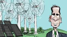 Ontario's clean power program is in place, but recent changes are making investors skittish (Brian Gable/Brian Gable/The Globe and Mail)