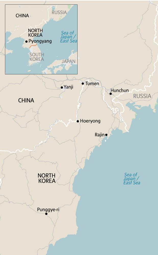 China and North Korea at the edge of patience: A view from ... on afghanistan china map, democratic people's republic of korea map, north china plateau map, sea port china map, macau china map, pyongyang east asia map, japan china map, northern mongolia on a map, p'yongyang on map, buyeo korea map, vietnam china map, history china map, chinese in china map, canada china map, france nuclear test site map, taiwan china map, italy china map, russia china map, vladivostok and moscow russia map, tumen river china map,