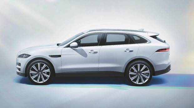 World Car Of The Year: Jaguar F Pace.