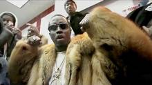 Sean Combs shown in a scene from the upcoming song Big Homie.