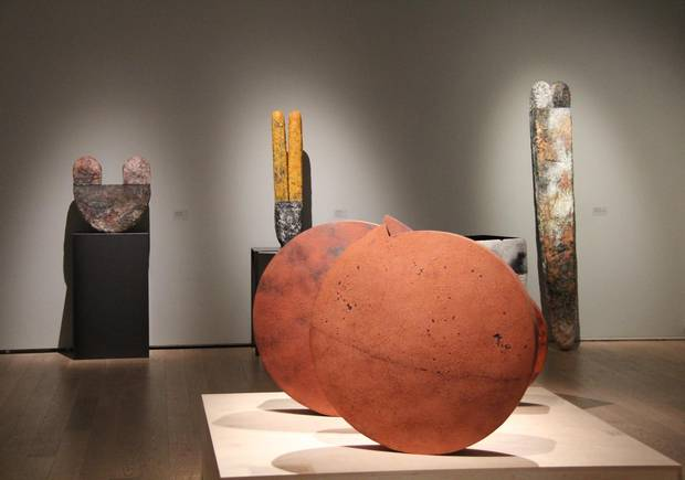 Installation photo (7).jpg Gardiner Museum presents major retrospective of work by acclaimed Canadian artist Steven Heinemann. Gardiner Museum