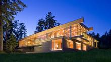 RUF architects Sean Pearson and Alyssa Schwann designed this Saltspring Island, B.C., residence. (Ivan Hunter/Ivan Hunter)