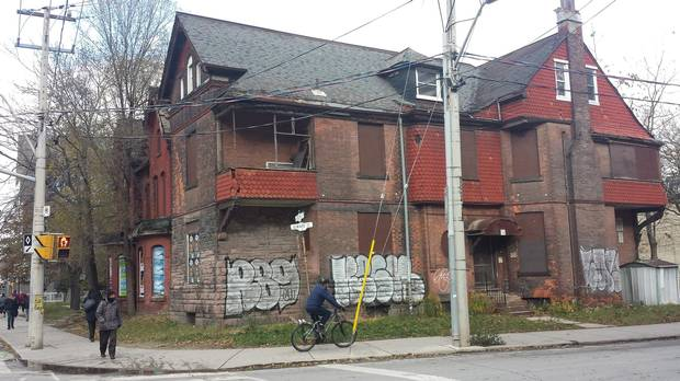 The Anson Jones House, 603 Sherbourne St., designed by noted architect Edmund Burke in 1894.