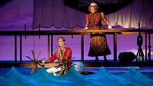 Kyle Blaire as Frederic and Gabrielle Jones as Ruth in The Pirates of Penzance. (Cylla von Tiedemann/Cylla von Tiedemann)