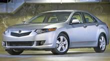2009 Acura TSX. (Honda)