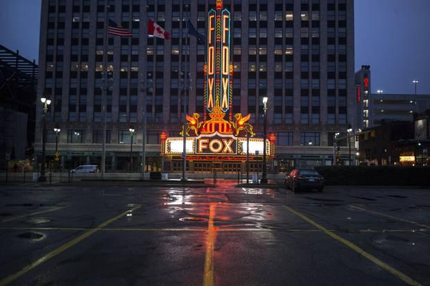The Fox Theatre ...