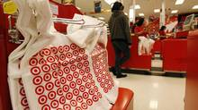 A shopper stands at a checkout counter at a Target store in Los Angeles in this file photo. (© Fred Prouser / Reuters/REUTERS)