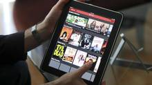 Netflix saw its streaming video service grow by 70 per cent in 2012 in Canada. (J EMILIO FLORES/NYT)